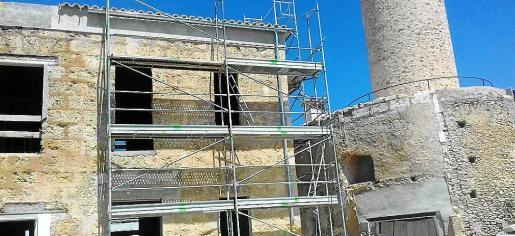 El edificio de Sa Farinera será objeto de una gran reforma para ser un centro cultural.