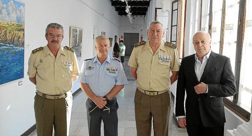 Teodoro Pou, Manuel Fernández Roca, Juan Cifuentes y Joan Guaita.