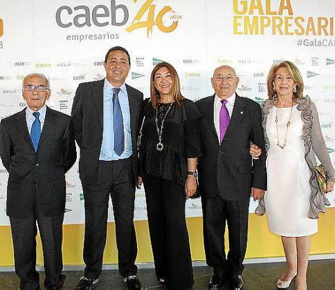Antonio Vidal, Jesús Salas, Fanny Clar, Miguel Clar y Jerónima Pou.