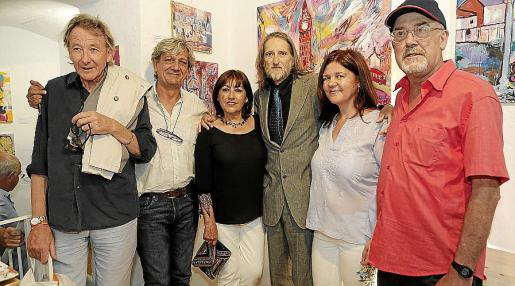 Miquel Martorell, Carlos Quintana, Maite Akordarrementeria, José Aranda, Monse Querol y Joan Insa.