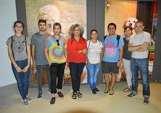 Neus Alemany, Toni Perelló, Leo Sapere, Mercedes Prieto, Pilar Vargas, Moisés Ramos, Rosa Cambero y Jaume Gaviño.