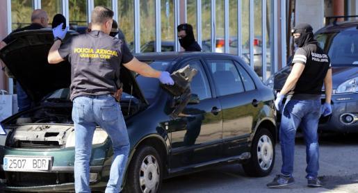 Imagen de archivo de la operación llevada a cabo en el Port d'Alcúdia.