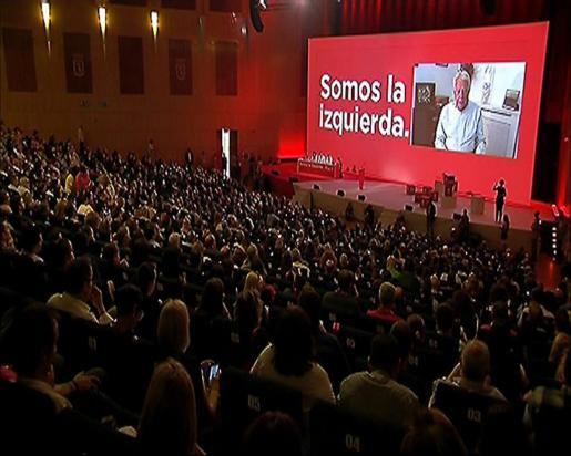 Imagen de la primera jornada del 39 Congreso Federal del PSOE.