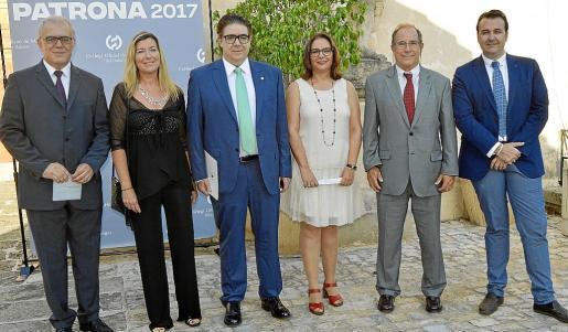 Josep Estelrich, Patricia Gómez, Antoni Bennàssar, Manuela García, Juli Fuster y Xisco Dalmau.