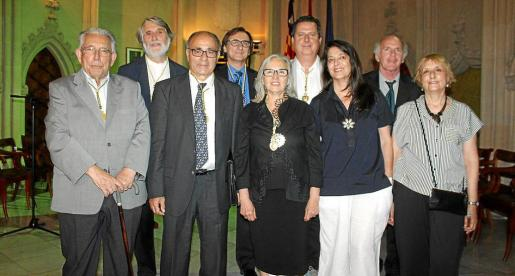 Rafael Perelló Paradelo, Tono Vila, Josep Prohens, Miguel Aguiló, Teresa Matas, Andreu Riera, Cristina Ros, Ñaco Fabré y Neus García Iniesta.