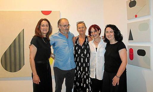 Lola Berenguer, Ramon Canet, Concha Sampol, Pepa Satué y Bel Font.