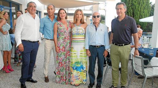Alfonso Robledo, Manuel Beltrán, Amaya Beltrán, Mercedes Torres, José Guerrero y Juan Luis Magnier.