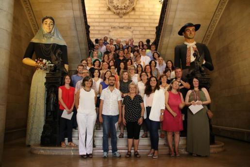 Cort ha premiado este jueves a 125 trabajadores de diferentes empresas que participaron en el Día sin Coches.