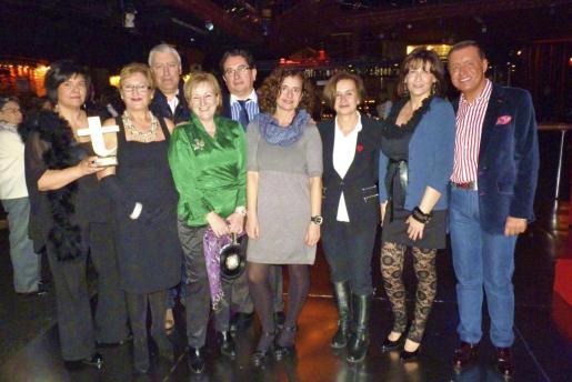 Antonia Ramis, Tania Frau, Tomeu Pinya, Margarita Riutort, Llorenç Caldentey, Raquel Arañón, Irene Mestre, Marisa Cortés y Jaime Colomar.