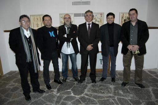 Francisco Rodriguez, Juanjo Oliva, Miquel Mesquida, Rogelio Araújo, Oscar Mayol y Toni Andreu.
