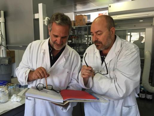 Xavier Busquets y Pablo Escribá, en una imagen de archivo, imputados en el caso.