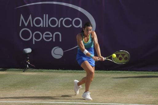La tenista letona Anastasija Sevastova venció este domingo en tres mangas a la alemana Julia Georges (6-4, 3-6, 6-3) en la final del Mallorca Open.