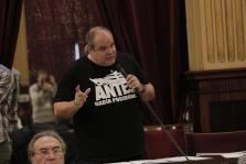 Aitor Morràs, diputado de Podemos