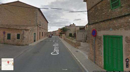 Una imagen de la vía principal del pueblo 'marratxiner'.