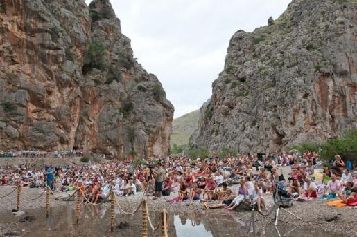 El concierto en el Torrent de Pareis es una de las citas ineludibles de verano mallorquín.