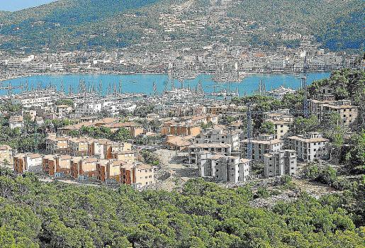 Urbanización de Monport, pendiente de juicio, en el Port d'Andratx.