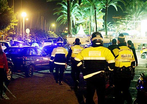 Los hechos ocurrieron a las cinco de la madrugada en el Paseo Marítimo de Palma.