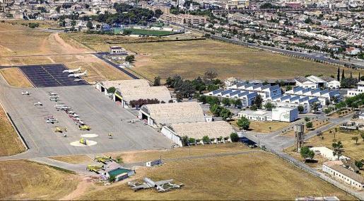 El aeropuerto de Son Bonet.