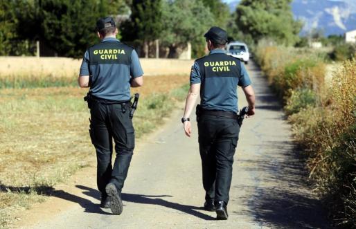 La Guardia Civil se hizo cargo de la investigación.