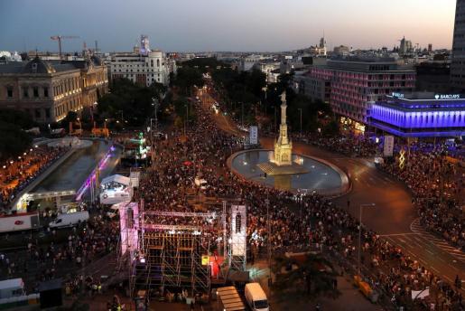 El consistorio madrileño hace un balance positivo de la celebración del Orgullo 2017 en sus calles y plazas.