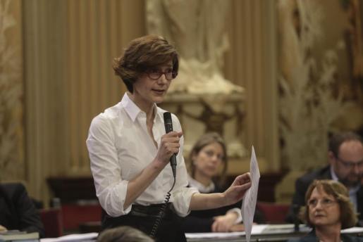 La socialista hace un balance positivo de los dos primeros años del ejecutivo de Francina Armengol.