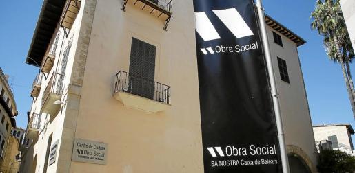 Sede del Centre de Cultura Sa Nostra de Palma, cuya gestión coordina la Fundació Sa Nostra.
