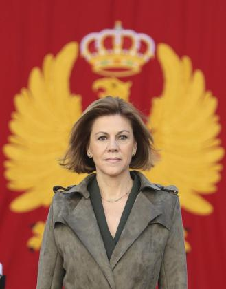 La ministra de Defensa ha presidido un acto para conmemorar los 40 años del Ministerio.