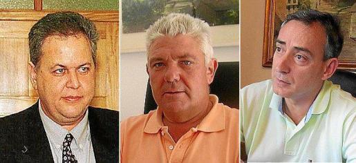 José Antonio Berastain, Bernardí Coll y Carlos Simarro.