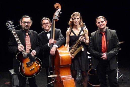 Imagen promocional del grupo de jazz Muriel Grossmann Quartet que actúa este jueves a partir de las 20.30 horas.