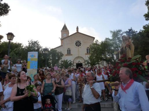 Imagen de archivo de la procesión marinera de Porto Cristo.