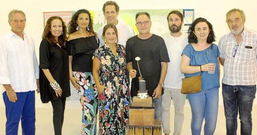 Lluís Fuster, Patricia Estrada, Carolina Amigó, Toni Forteza, Carlota Campins, Rafa Forteza, Óscar Florit, Bel Font y Pep Coll.