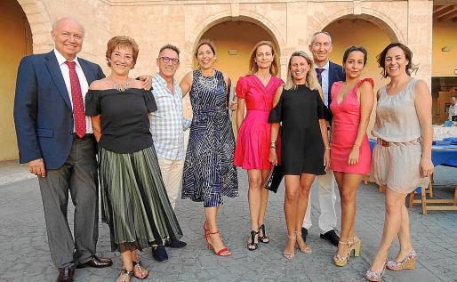 Miquel Picó, Joana Capó, Pep Miró, Cote Moreno, Victoria Munar, Nuria Pujols, Andreu Montaner, Silvia Trigo y Mariona Perelló.