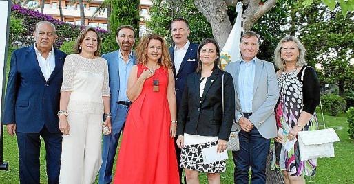 Mateu Bennàssar, María José Vadillo, Tolo Riera, Christine Stein, Miguel Blum, Kika Muret, Marcelino Minaya y Pilar Maldonado.