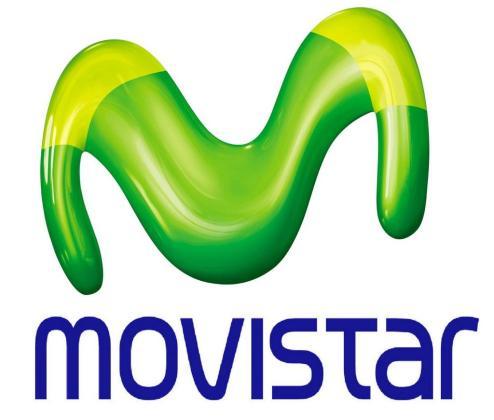 Logo de Movistar.