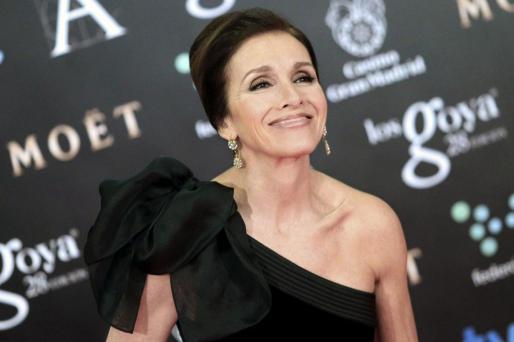 Fotografía de archivo de la actriz y cantante Ana Belén, galardonada este 2017 con el Goya de Honor.