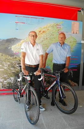 Walter Güntensperger, presidente, y Marcel Iseli, director deportivo de Huerzeler Bicycle Holidays.