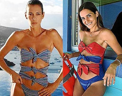 Hay un modelo que está destacando por su originalidad y también por su dificultad. Se trata del topless o bañador de nudos