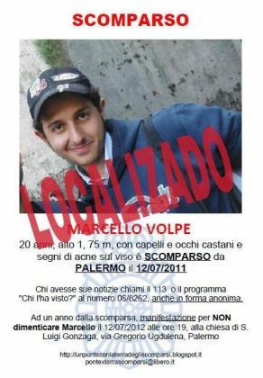Marcello Volpe, es de Palermo.