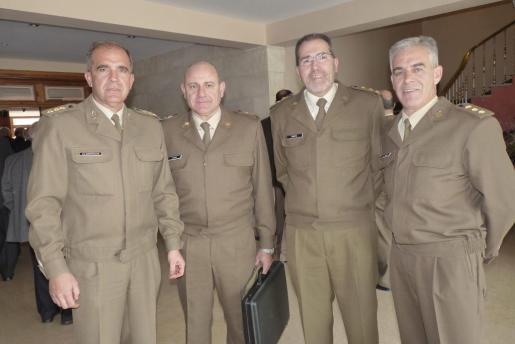 José Luis Albarracín, José Luis Codina, Juan Ramis y Pedro Martínez-Molina.