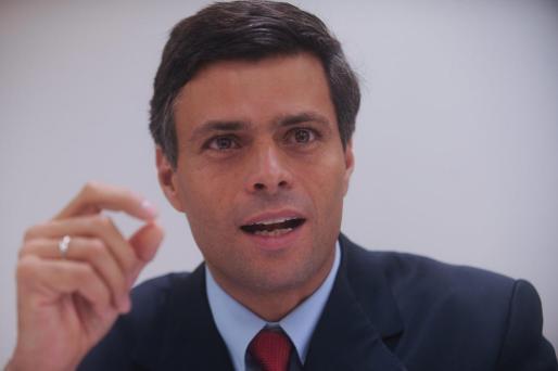 Fotografía de archivo del opositor venezolano Leopoldo López.