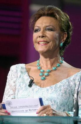 Foto de archivo de la actriz y cantante Francisca Rico Martínez, Paquita Rico.