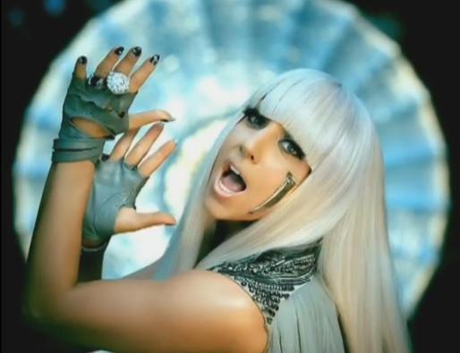 La cantante Lady Gaga durante una actuación.