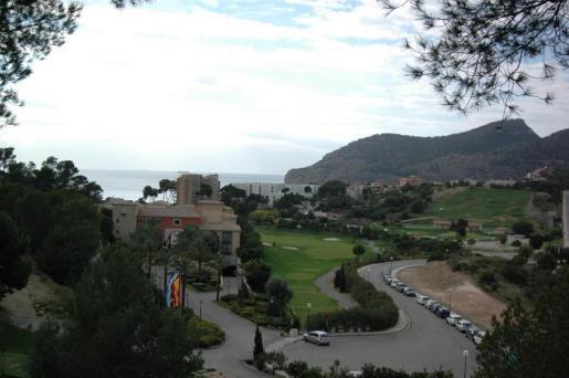 Vista de Camp de Mar.