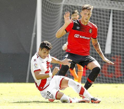 Antonio Raíllo, durante un partido de la pasada temporada.