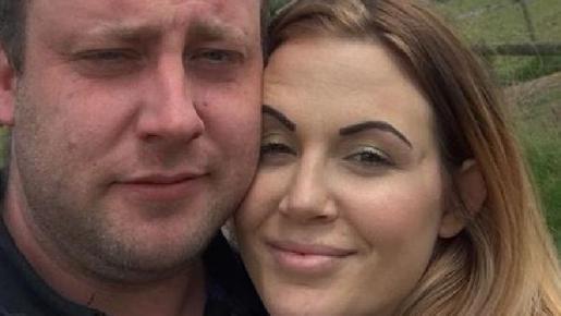Ashley Murrel junto a su marido, en una imagen de su Facebook.