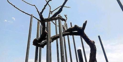 La escultura 'Bailarín'.
