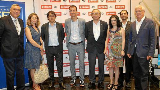 Juan Cifuentes, Pilar Sansó, Iago Negueruela, Jordi Mora, Martí March, Isabel Castro, Antoni Sampol y Josep Lluís Roses.
