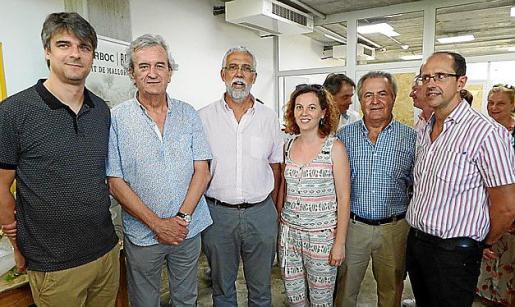 Sebastià Solivellas, Joan Miralles, Mateu Ginard, Irene Cabrer, Jaume Orell y Miquel Àngel Frau.