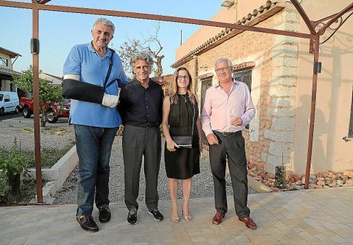 Fernando Romay, Joan Buades, Guitin Timoner y Josep Lluís Roses.