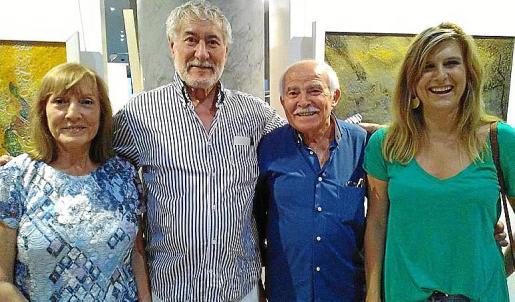 Izquierda: Rosa Arroyo, Joan Gibert, Joan Cunill y Cati Munar.